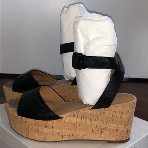 Coach Becka Platform Wedge Sandals